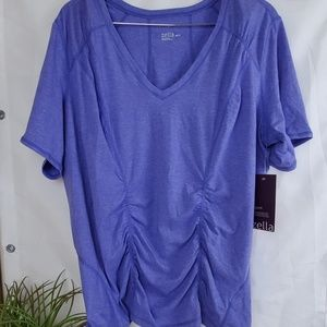 Zella Flex Fit Z Tee Purple top